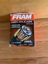 NIB Engine Oil Filter-High Mileage Fram HM5
