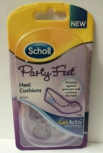 Scholl Party Feet Heel Cushion with Gel Activ Technology Ultra Thin - 1 Pair