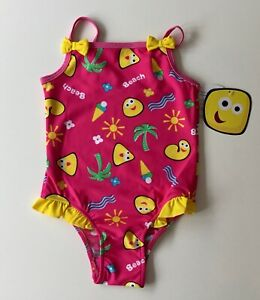 New Cbeebies UPF 50 Swimsuit Ages 12 Mnths to 6 Yrs - Free 1st Class Postage