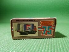 MATCHBOX 72 DODGE DELIVERY TRUCK PEPSI LONON ENGLAND