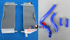 Aluminum Radiator + HOSE FOR Kawasaki KX250 KX 250 05-07 2005 2006 2007 2-stroke