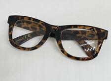 NEW +2.00 Betsey Johnson Tortoise Thick Frame Reading Glasses Readers