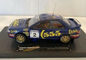 WOW! 1:18 Sunstar Subaru Impreza 555 #2 C.McRae/D.Ringer