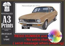 72-74 LJ HOLDEN TORANA A3 ORIGINAL PERSONALISED PRINT POSTER CLASSIC RETRO CAR