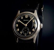Helvetia military WWII Wehrmacht DH vintage watch montre uhren