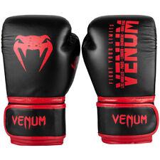 Venum Signature Kids Training Boxing Gloves - Black/Red