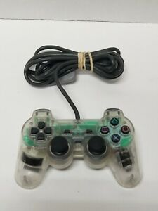 Sony OEM PlayStation Analog Transparent Clear Controller SCPH-1200
