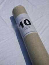 Pure 100% Linen Flax Fabric for Craft Homeware Zakka Natural Ecru