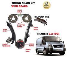Für Ford Transit 2.2 Diesel TDCI 2006 > Neu Zeitsteuerkette Set + Getriebe Satz