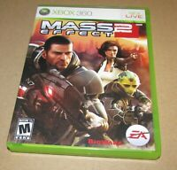 Mass Effect 2 for Xbox 360 Complete Fast Shipping!
