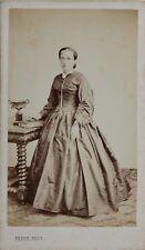 Pepin Laval Femme Album France Carte de visite Cdv Photo Vintage Albumine c1860