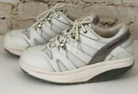 MBT Womens Sneakers Size 7 E wide White Sport Rocker Walking Shoes toning