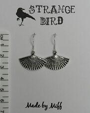 funky stylish delicate Oriental fans! earrings fan