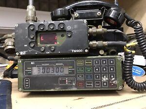 Cold War ERA Radio MOULD System Pye FM900 Good Condition