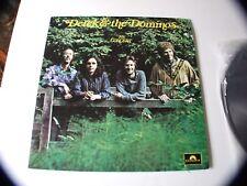DEREK & THE DOMINOS IN CONCERT 2-LP SET 1972 POLYDOR 0501 VERY NICE !!!!!