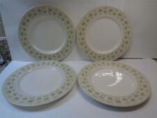 "Royal Doulton Tc1039 Samarra 10.5"" Dinner Plates Set 4 English Translucent China"