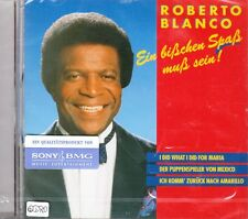 ROBERTO BLANCO + CD + Ein bißchen Spaß muß sein + Das Fetenalbum + Party + NEU +