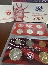 2000-S 90% Silver Proof Set US Mint Original Government Packaging Box #C568