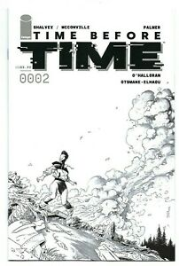 Image Comics TIME BEFORE TIME #2 first printing 1:10 variant