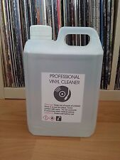 1.5 L VINYL RECORD CLEANING FLUID +  3 PLASTIC RECORD SLEEVES for: KNOSTI .''