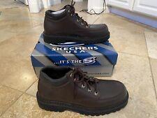 Skechers Serval Cool Cat Brown Fudge Color Men Size 10.5 NIB $59.99