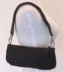 The Sak Woven Black Handbag Purse