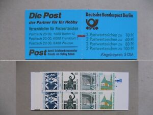 GERMANY BERLIN, booklet No15 MNH with counting mark