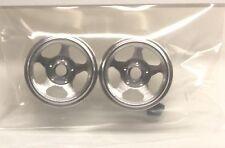 CB DESIGN 0115 5 SPOKE ALUMINUM WHEELS 15x7 -NEW 1/32 SLOT CAR PARTS