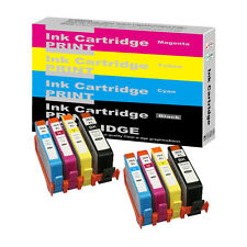 8 Chipped Ink Cartridges for HP 364XL Photosmart  B109f B109g B109n B110 B110a