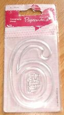 6th Papermania Typography Oversized Clear Stamp (ASCC0516)