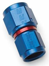 Russell 640550 Fitting Reducer Straight Female -6 AN to Female -8 AN Red/Blue