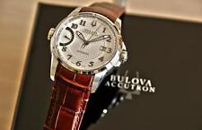 Bulova Accutron Calibrator 63B160 Mens Swiss Made Automatic Watch $1695 RARE NEW