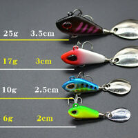 Lebensechte Angelköder Swimbait VIB Hard Bait Fisch Drillinge Haken Tackle