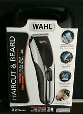 WAHL Hair & Beard Trimmers Clipper 22pcs Wireless Rechargeable Brand New