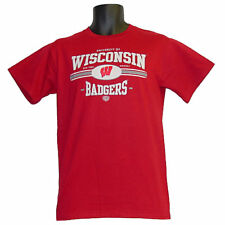 Wisconsin Badgers Old Time Hockey Willowbrook Red T-Shirt - XLarge