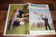 MODELLBAU und BASTELN # 12/1960 -- Zeitschrift für DDR Heimwerker / Geburtstag ?