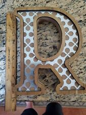 Letter R 10 inch