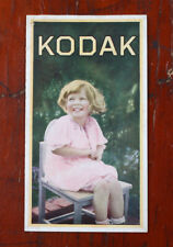 KODAK COLORED KODAKS SALES BROCHURE, 1930/cks/215819