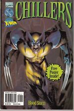 CHILLERS  FEATURING THE X-MEN ''BLOOD STORM'' -POSTER INSIDE- GN/TPB WOLVERINE..