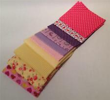 40 Jelly Roll / Fat Quarters /Charms 100% & Poly Cotton Fabric- Quilt Patchwork