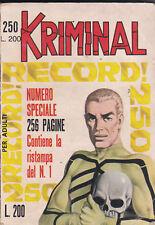 KRIMINAL n° 250