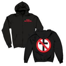Bad Religion - Big Crossbuster Zip Hood (Black)