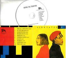 SINK YA TEETH Sink Ya Teeth 2018 UK 10-trk promo test CD
