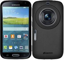 Amzer Pudding Matte TPU Case Cover per Samsung Galaxy K Zoom SM-C115 - Nero