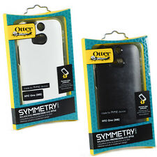 Official Symmetry Drop Shockproof Drop Case For Htc One M8 In White & Black
