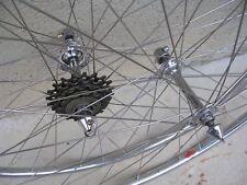 Roues vintage années 40 - Campagnolo Gran Sport- Mavic 1/2 Rondes