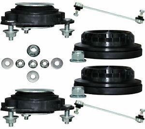 FRONT SUSPENSION TOP STRUT MOUNTS, BEARINGS & LINKS KIT FITS FORD MONDEO 4363242