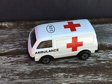 Maisto Ford Econovan Ambulance - White - Approx 1:64 Diecast Car