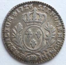 LOUIS XV 1/10 ECU AUX BRANCHES D'OLIVIER 1726 BB