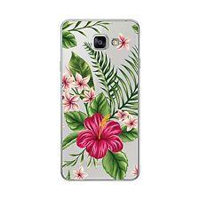 Coque souple colorée pour Samsung Galaxy A5 2016 ( A510) - Bouquet exotique